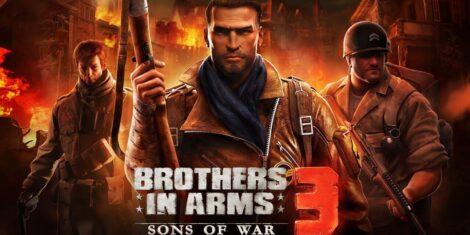 تحميل Brothers in Arms 3 1.5.2a مهكرة للاندرويد