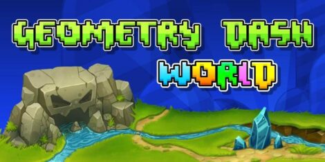 تحميل Geometry Dash World 1.04 مهكرة اخر اصدار للاندرويد