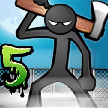 تحميل Anger of Stick 5 1.1.53 مهكرة اخر اصدار للاندرويد
