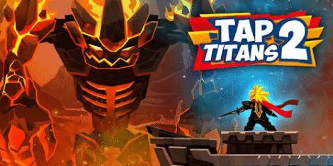 تحميل لعبة Tap Titans 2 مهكرة اخر اصدار للاندرويد